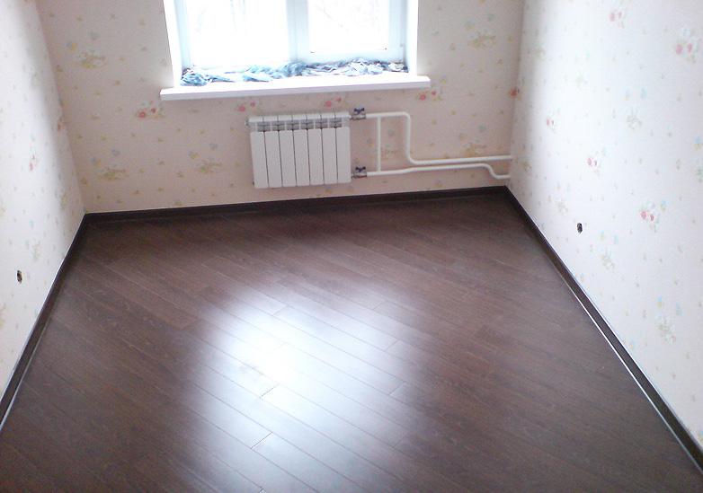 Укладка ламината в квартире