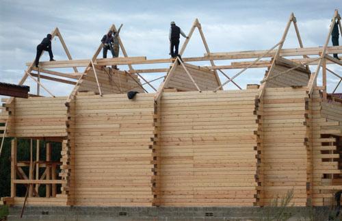 Строю дом сам из бруса