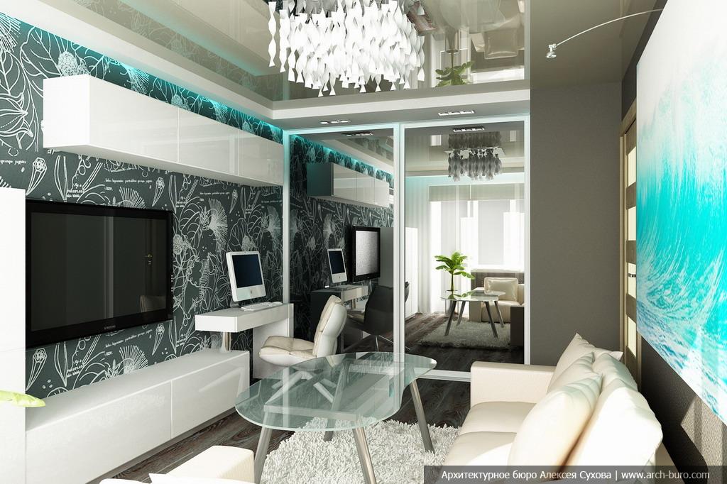 Дизайн интерьера в малогабаритной квартире