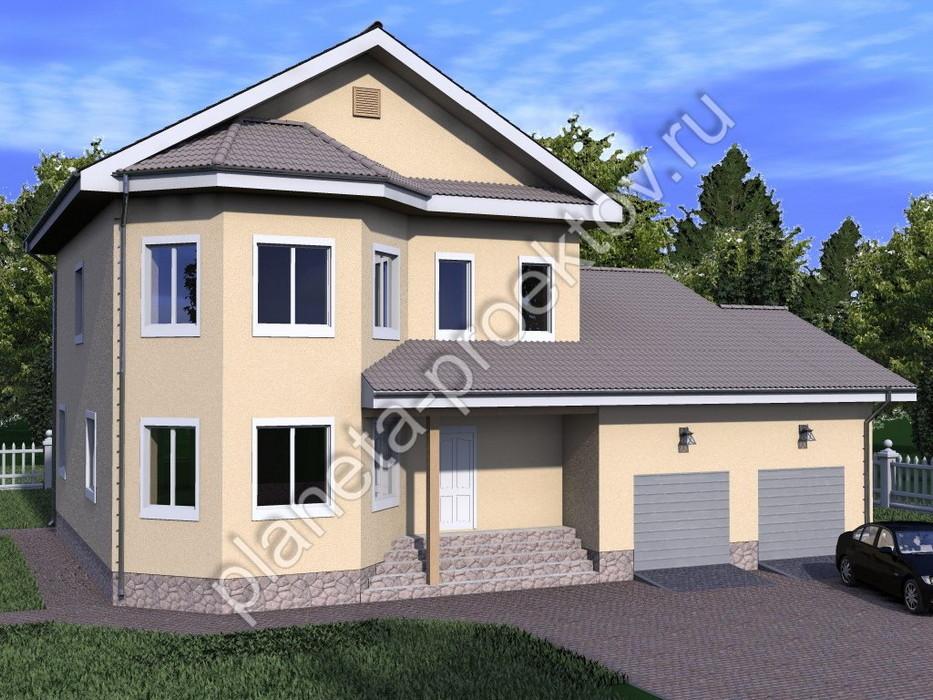 Образцы домов из пеноблоков фото