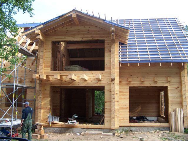 Ремонт в доме из дерева
