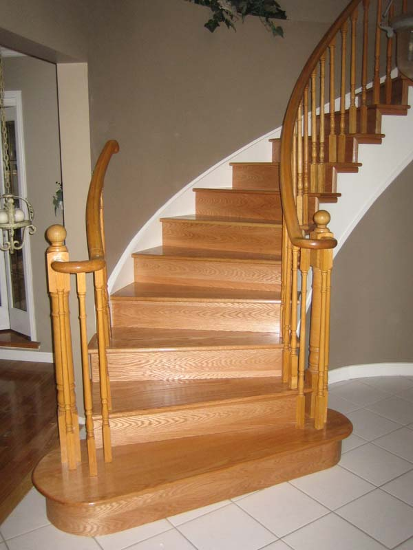 Как сделать перила для лестницы видео своими руками