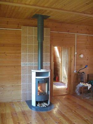 Как установить камин в деревянном доме своими руками