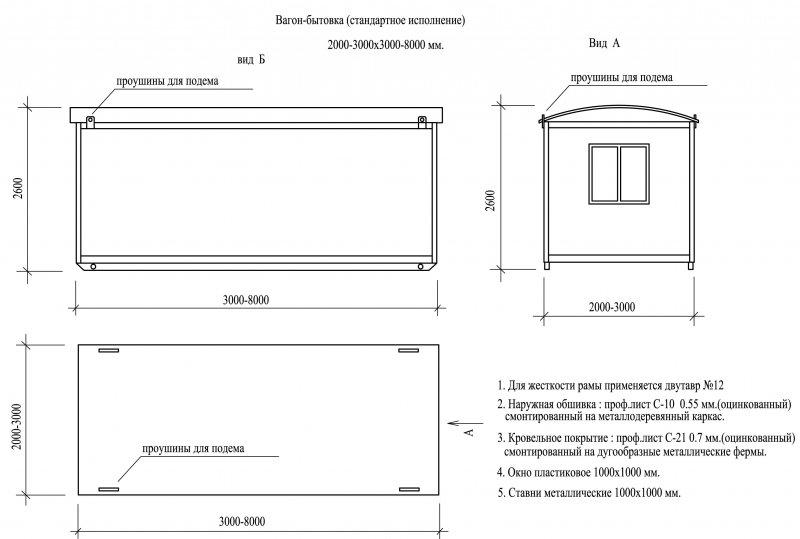 Как построить бытовку пошаговая инструкция