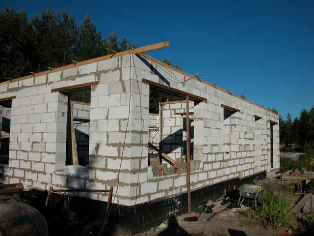 Дом построить  из пенобетона