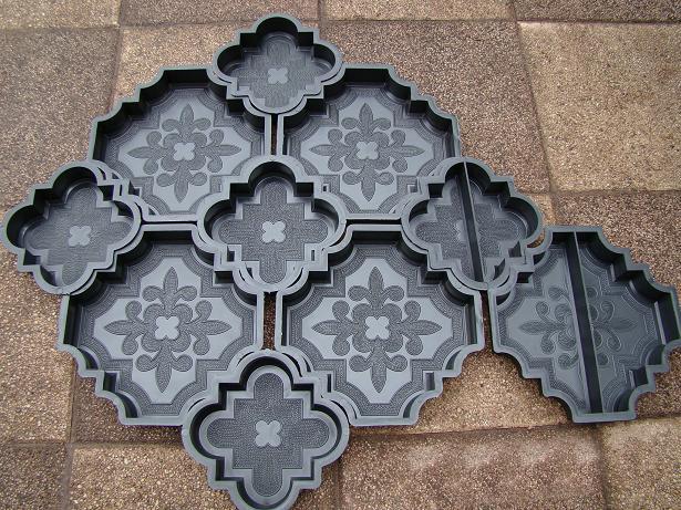 Формочки для тротуарная плитка своими руками