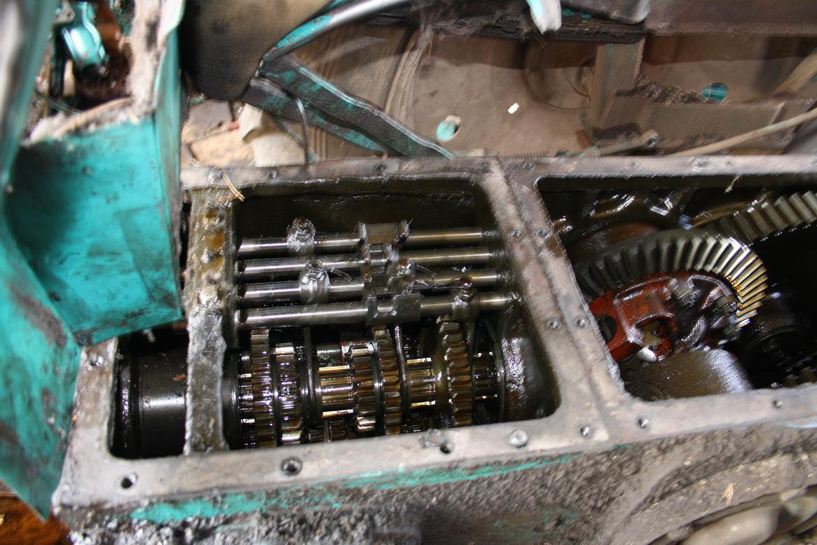 Фото №9 - как располовинить коробку передач ВАЗ 2110