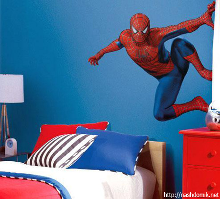 Интерьеры комнат для мальчика