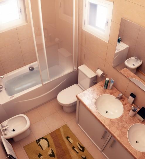 Как из маленькой ванной сделать уютную