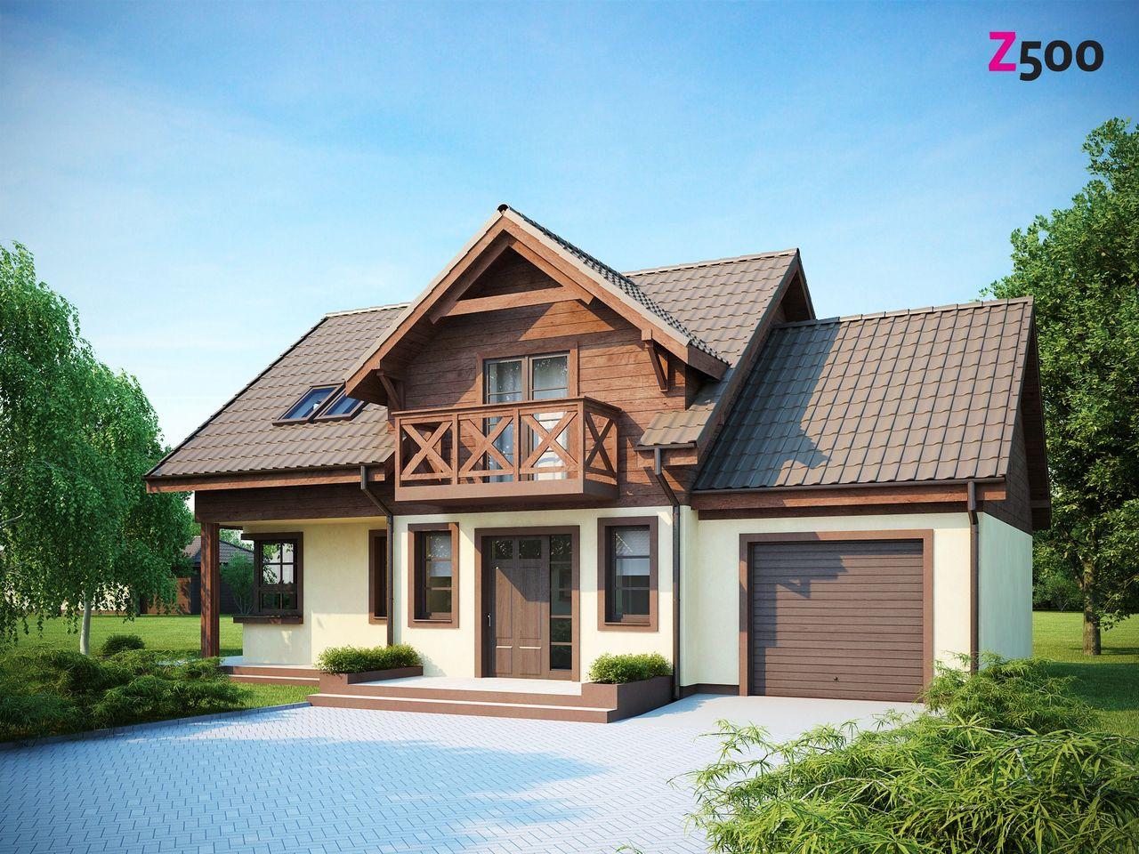 Проектирование дачных домов из материала пеноблока. В чем