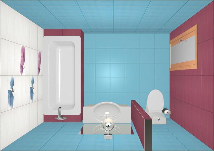 Как сделать проект плитки в ванной