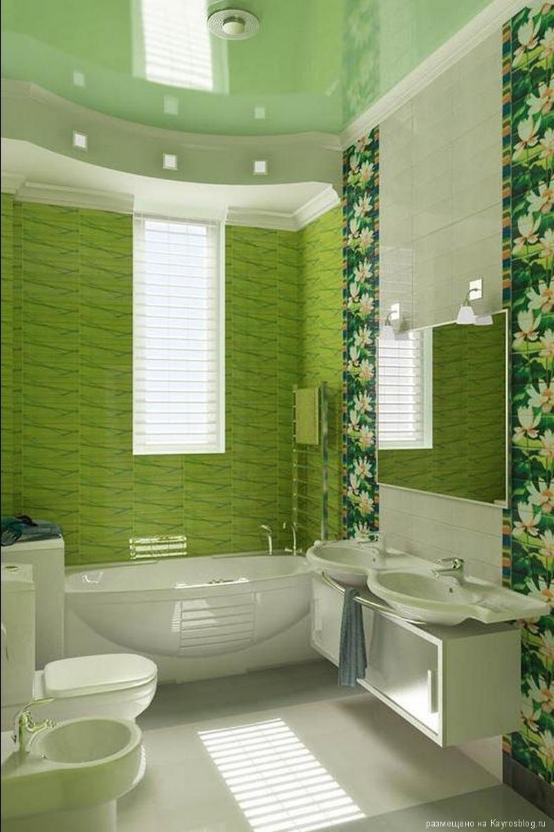 Дизайн маленькой ванной комнаты панелями