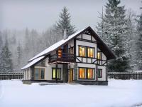 Канадские дома из дерева