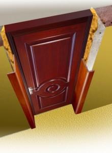Откосы для входной двери своими руками