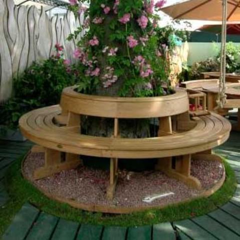 Садовая скамейка и как её сделать своими