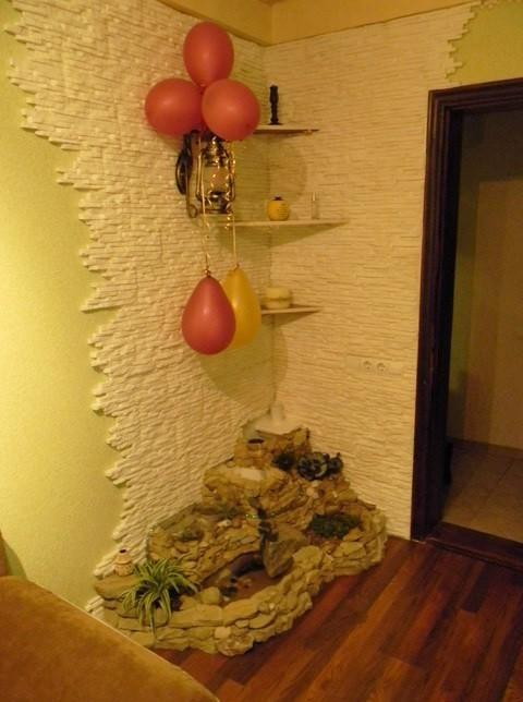 Альпийская горка пошаговое фото в квартире
