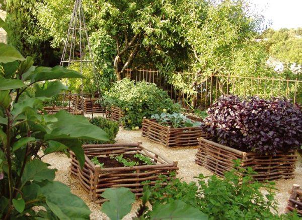 Дизайн огородов и садов