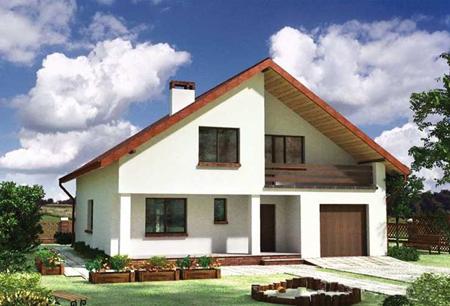 Дома зависит от площади дома