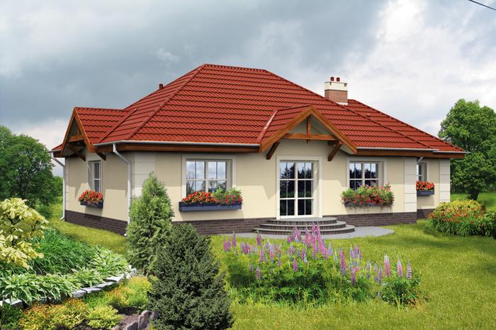 Крыши одноэтажных домов с фото
