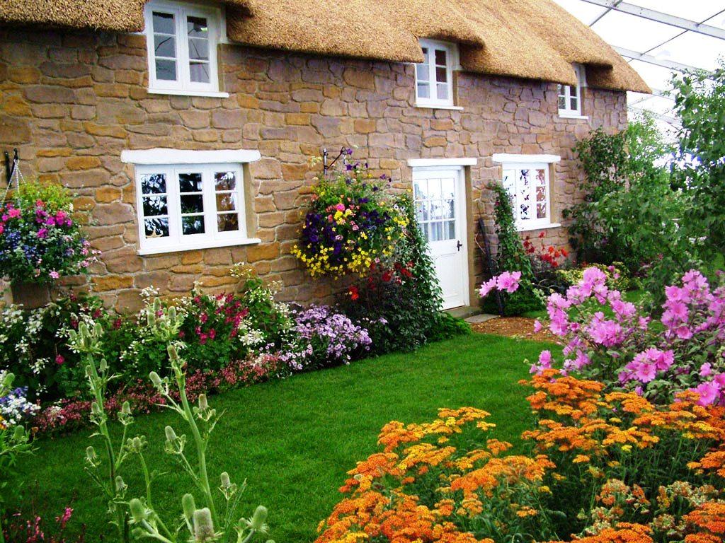 Сад в деревенском стиле своими руками 77