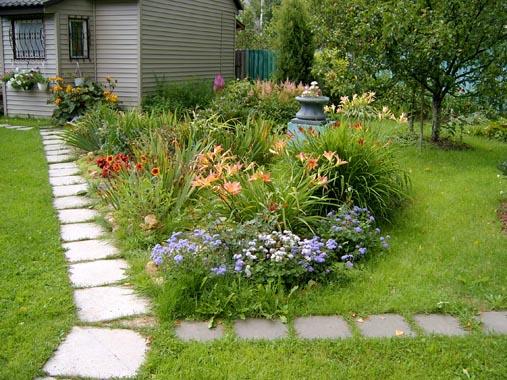 Садовый участок дизайн своими руками фото 6 соток